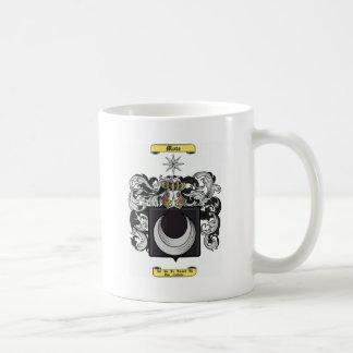 mota de polvo taza