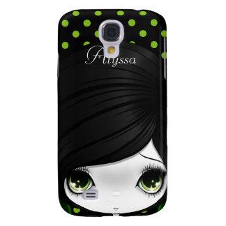 Mota del iPhone 3 del verde 3 de Madeline