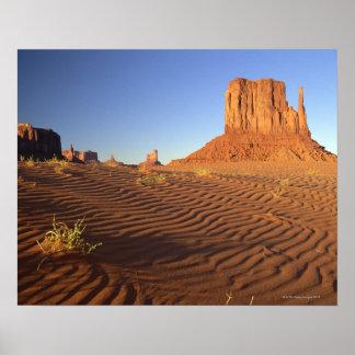 Mota del oeste de la manopla, Navajo del valle del Póster