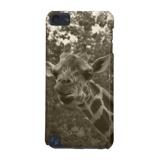 Mota del tacto de iPod de la jirafa
