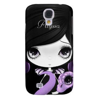 Mota púrpura del iPhone 3 de Madeline