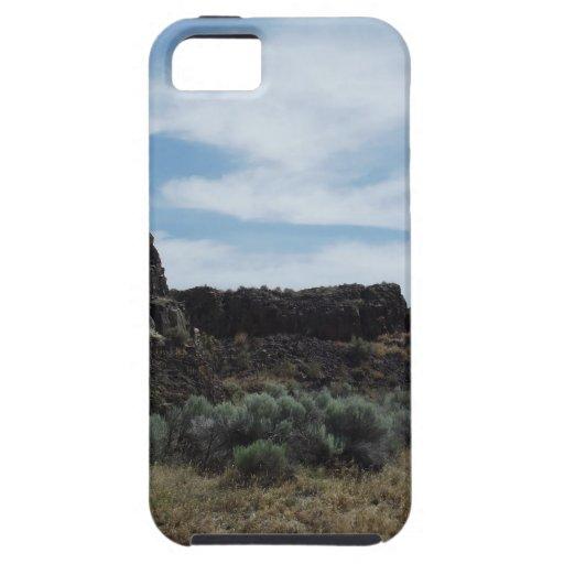 Motas de la roca del desierto iPhone 5 cárcasas