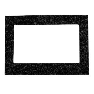Motas de los gris plateados en marco magnético neg marcos magnéticos de fotos