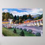 Motel 1950 del arce del St. Johnsbury Vermont Posters