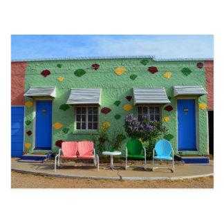 Motel azul del trago, salas 10 y 11, Tucumcari, Tarjetas Postales