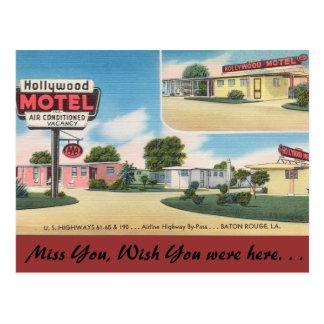 Motel de Luisiana, Hollywood, Baton Rouge Postales