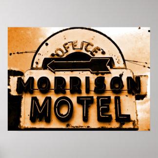 Motel de Morrison: Un tributo de las puertas Póster