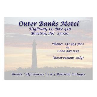 Motel de OBX A.C. Plantillas De Tarjetas De Visita