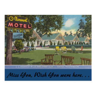 Motel de Washington, Claremont, Seattle Postal