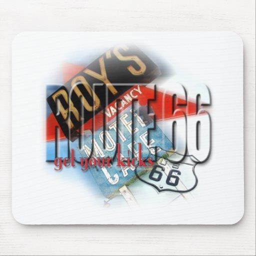 Motel del café de Roy - ruta 66 Alfombrilla De Raton
