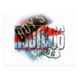 Motel del café de Roy - ruta 66 Postales