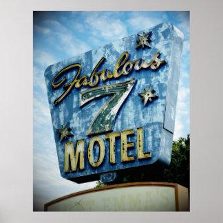 Motel fabuloso 7 póster