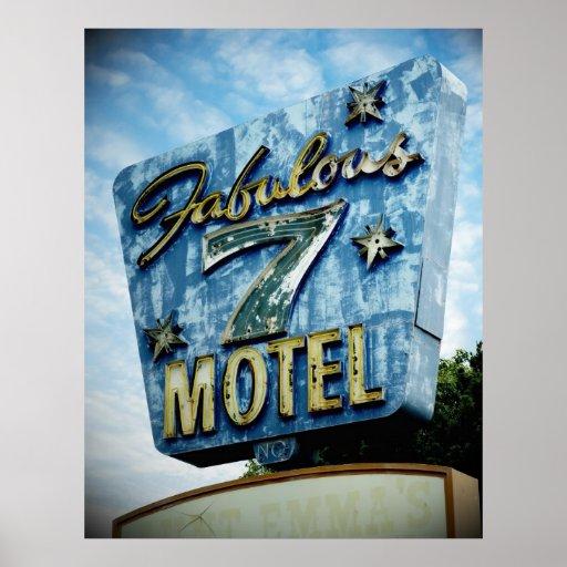 Motel fabuloso 7 posters