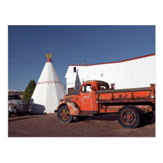 Motel Holbrook Arizona de la tienda india de la po Postal