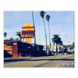 Motel In Sunset Boulevard Photo
