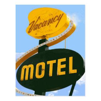 Motel postcards