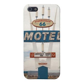 Motel ruta 66 iPhone 5 cárcasas