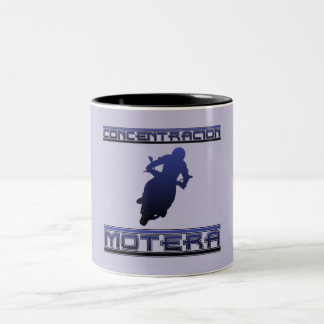 Motera concentration Two-Tone coffee mug