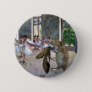 Moth and Mouse Cotillion Button