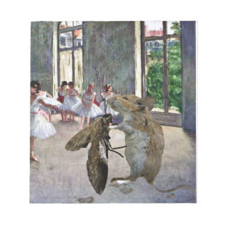 Moth and Mouse Cotillion Notepad