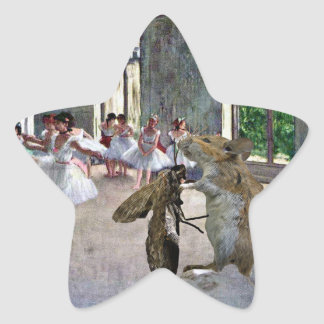 Moth and Mouse Cotillion Star Sticker