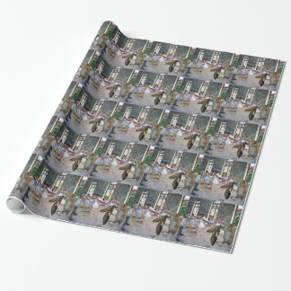 Moth and Mouse Cotillion Wrapping Paper
