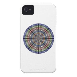 Moth Big RGB Round iPhone 4 Case