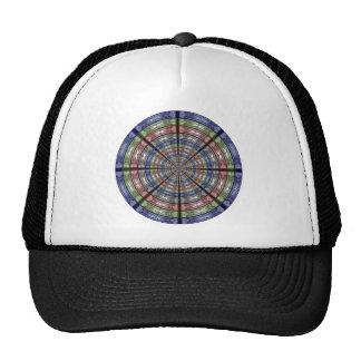 Moth Big RGB Round Transparent Trucker Hat
