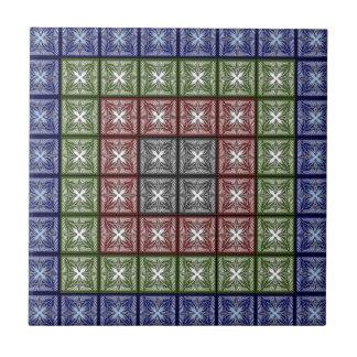 Moth Big RGB Small Square Tile