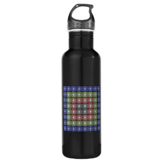 Moth Big RGB Stainless Steel Water Bottle