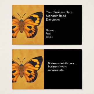 Moth Butterfly Business Card