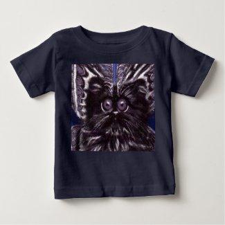 Moth Cat Baby T-shirt