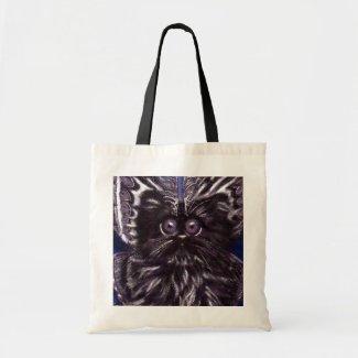 Moth Cat Tote Bag