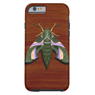 Moth Emboss Tough iPhone 6 Case