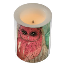 Moth LED Candle