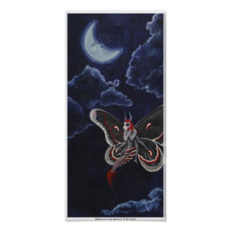 Moth Loves the Moon poster