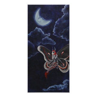 Moth Loves the Moon small print