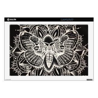 """Moth Mandala Skins For 17"""" Laptops"""