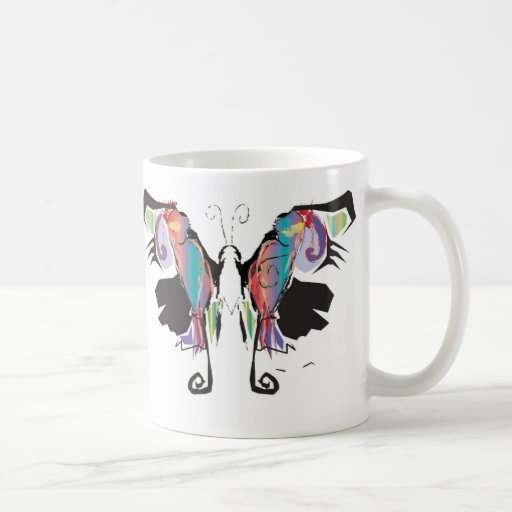 Moth Movement Classic White Coffee Mug