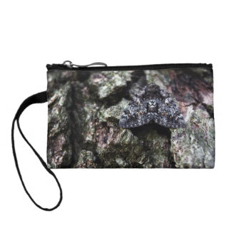 Moth on a Tree Coin Purse