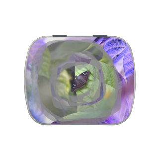 moth on plant inverted edges insect jelly belly candy tins