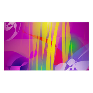 Moth Orchids and Yellow Light Business Card