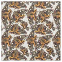 Moth pattern fabric