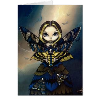 """Moth Queen: Acherontia Atropos"" Greeting Card"