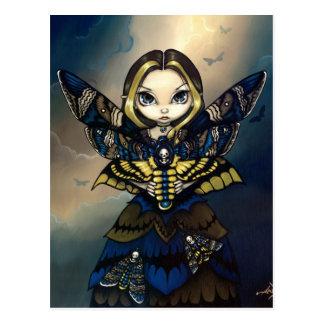 """""""Moth Queen: Acherontia Atropos"""" Postcard"""
