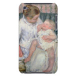 Mother about to Wash her Sleepy Child, 1880 (oil o iPod Touch Cases