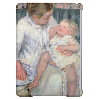 Mother about to Wash her Sleepy Child, 1880 (oil o iPad Air Cases