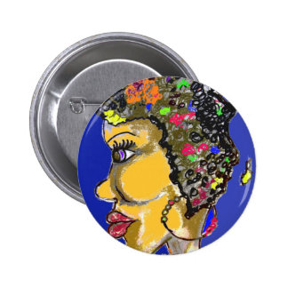Mother Africa Pinback Buttons
