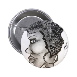 mother Africa Pinback Button