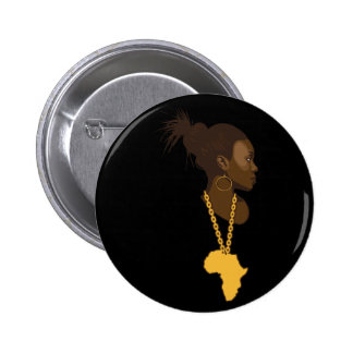 Mother Africa Button